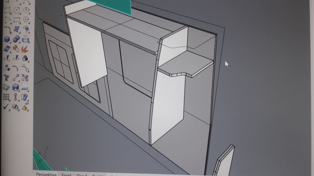 Van Wohnmobil Camper Ausbau 10